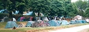 """Camping base de loisirs de """"La Pègue"""" à Meyrueis, Lozère"""